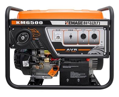 5kw家用小型三相汽油发电机